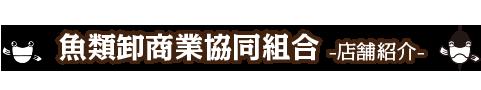 魚類卸商業協同組合 店舗紹介